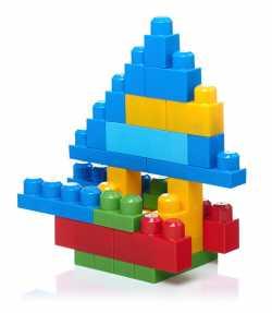 Конструктор классический в мешке (80 дет.) Mega Bloks