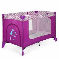 Детский манеж El Camino Safe ME 1016 Purple Flowers Фиолетовый