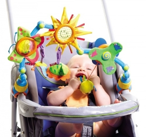 Развивающая дуга для коляски и автокресла Солнечная прогулка - Sunny Stroll Tiny love