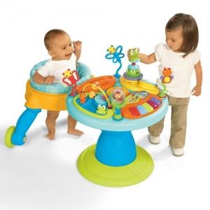 Детский развивающий игровой центр – бегунок Bright starts Around We Go «Чудесный сад»