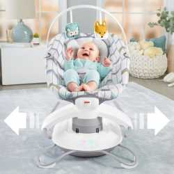Укачивающий центр Fisher-Price 2-in-1 Deluxe Soothe 'n Play ЛЕСНАЯ ФЕЯ