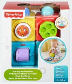 "Двигающиеся кубики ""Яркие"" Fisher-Price"