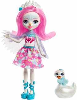 """Кукла Enchantimals """"Лебедь Саффи"""""""