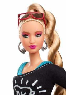 Коллекционная кукла Barbie X Кит Харинг