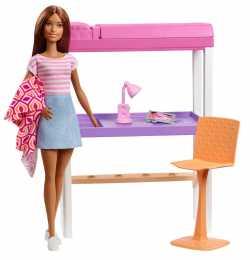 Набор мебели с куклой Barbie в асс.(3)