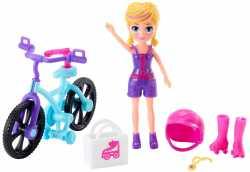 """Игровой набор """"Модница на колесах"""" Polly Pocket в асс."""
