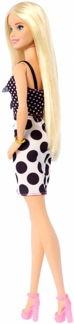 """Кукла Barbie """"Модница"""" в черно-белом платье"""
