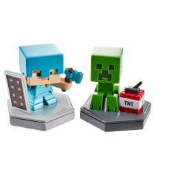 """Набор из 2 коллекционных мини-фигурок """"Minecraft Earth"""" (в асс.)"""