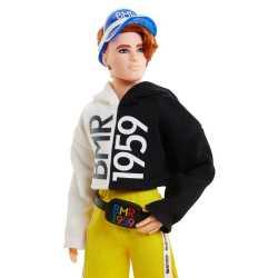 """Коллекционная кукла """"BMR 1959"""" Кен в двухцветном худи Barbie"""