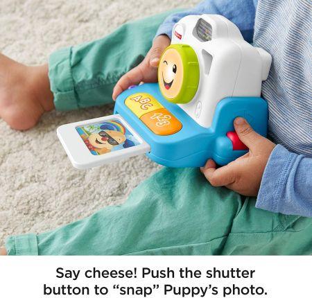 Интерактивная игрушка Fisher Price Фотоаппарат моментальной печати
