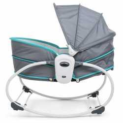 Кресло- качалка люлька - баунсер Mastela 5 в 1 для новорожденного мальчика