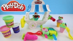 Play Doh набор Вагончик мороженое Плей До