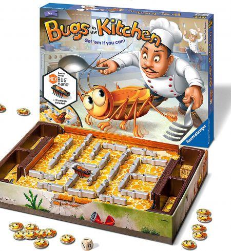 Настольная игра Кукарача жуки на кухне – нано тараканы Bugs in the Kitchen Ravensburger