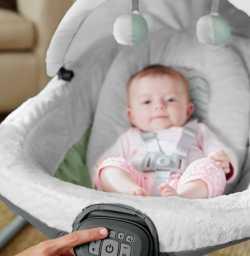 Укачивающий центр Грако ДЕТСКИЙ ОАЗИС Graco Baby Oasis Swing with Soothe Surround Technology