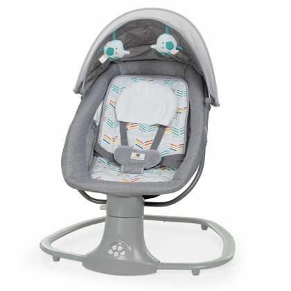 Детский укачивающий центр люкс-класса Mastela deluxe 8104 светло-серый